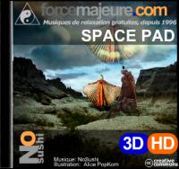 SpacePad: musique de relaxation pour un voyage à travers l'espace