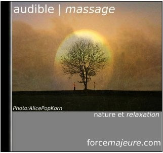 Audible massage