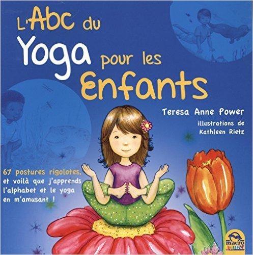 livre pour apprendre le yoga et l'alphabet en même temps