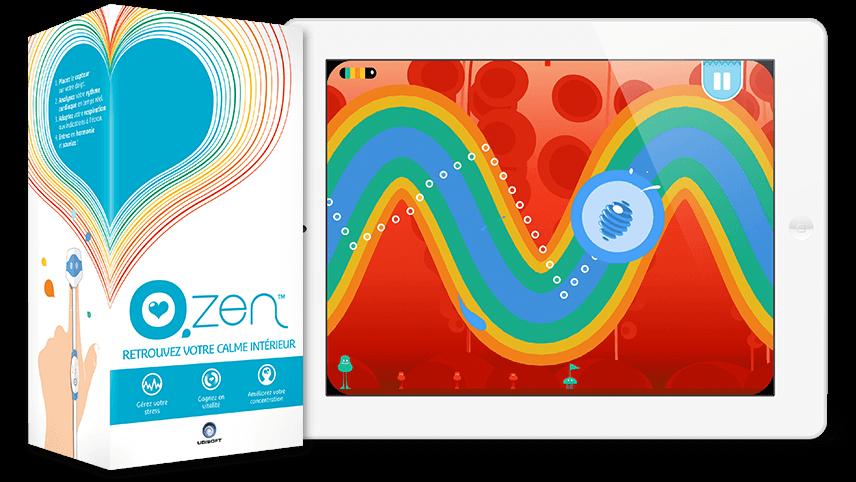 o.zen par UbiSoft pour la synchronisation cardiaque